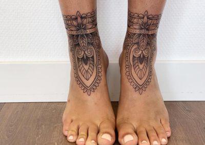 Black Lining - Franka - Fine Line - Feet