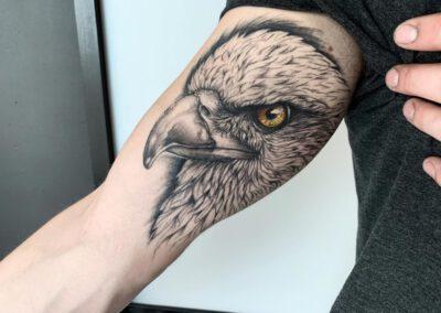 Black Lining - Franka - Inner Upperarm - Bird