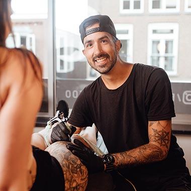 Black Lining - Jimmy - Tattoo Artist